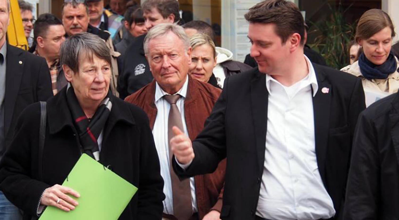 Ministerin Hendricks lobt Entwicklung der Lange Straße