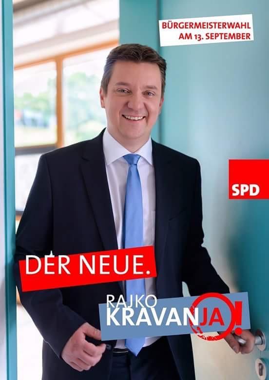 Rajko Kravanja startet in den Wahlkampf
