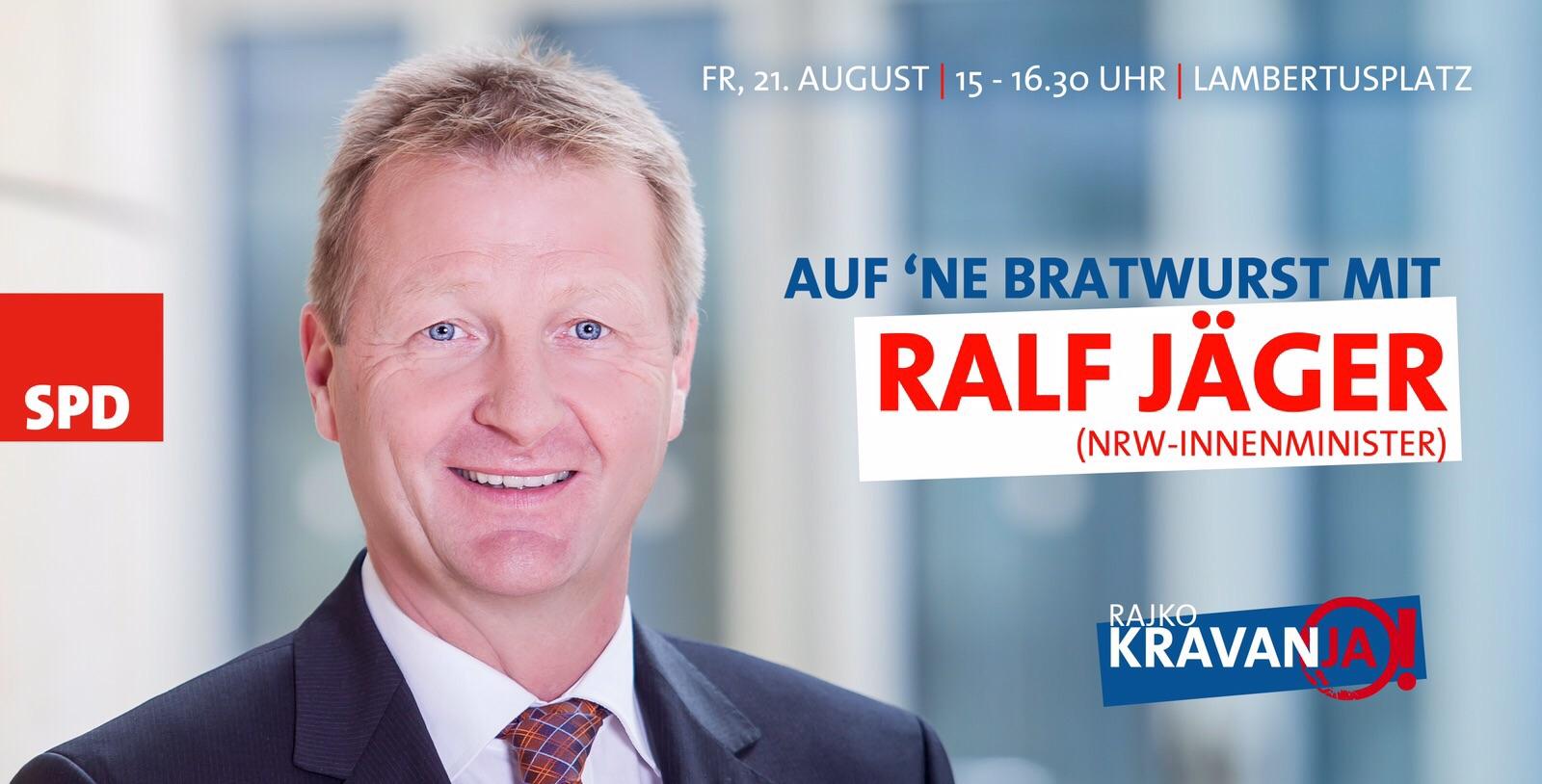 Speeddating mit Ralf Jäger