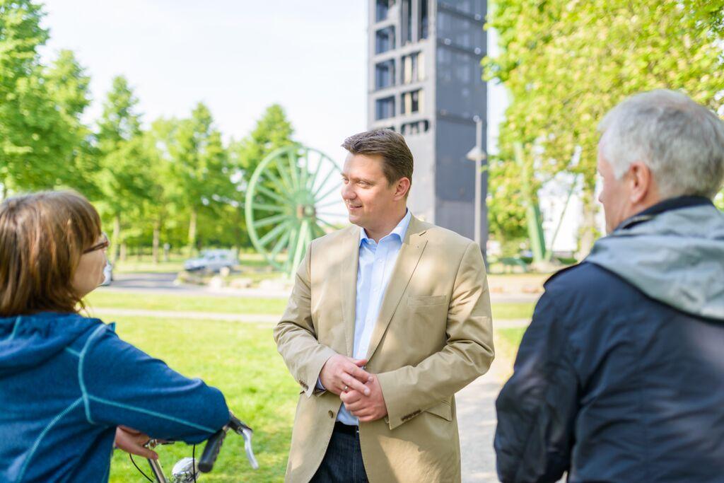 SPD-Bürgermeisterkandidat Rajko Kravanja treffen