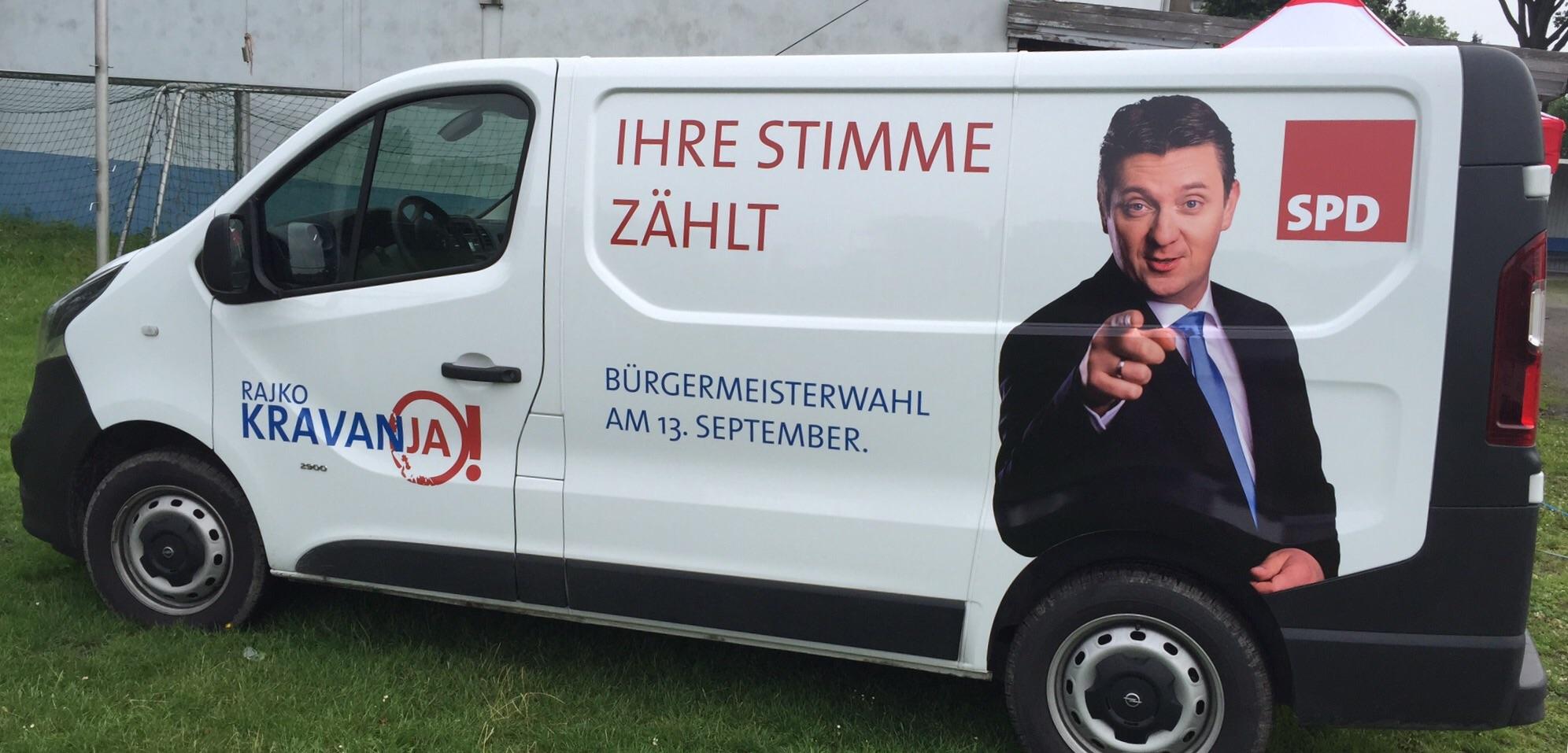 SPD bietet kostenloses Wahltaxi an